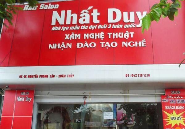 Làm biển quảng cáo tại Trần Phú