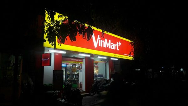 Sản xuất thi công VINMART tại Hà Nội