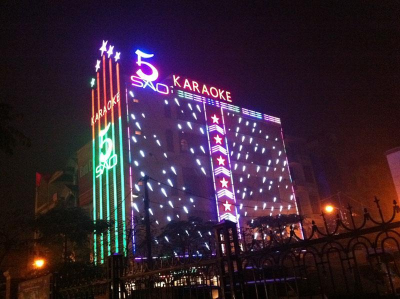 Làm biển quảng cáo Karaoke tại Hà Nội